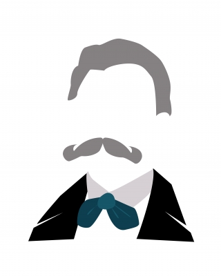 The Big Moustache, Nietzsche