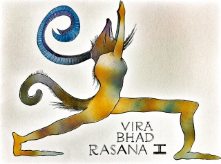 Yoga Monster one in a series