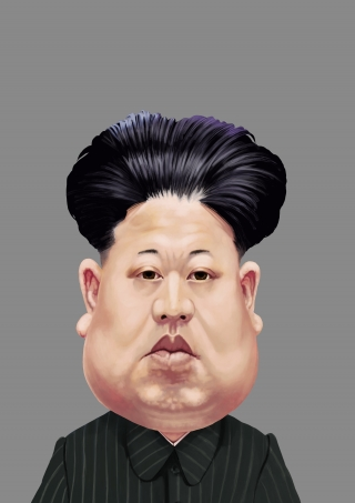 Caricature of Kim Jong Un.jpg