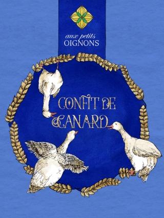 Packaging of confit de canard