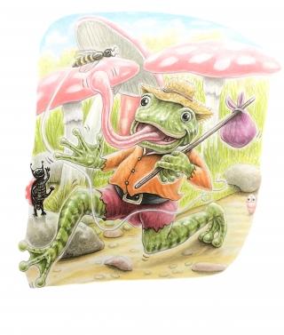 Billy frog 100