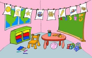 Children school background