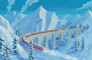 IOTA Alpine Train