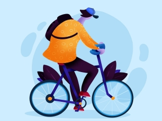 biking-in-copenhagen-flat-illustration-toms-stals