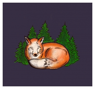 fox violet