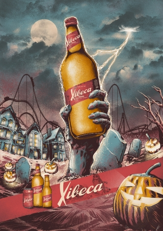 Poster for Xibeca Beer Company