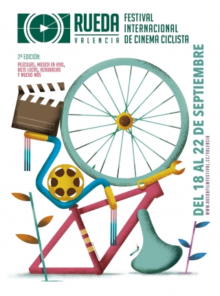 Graphic image for Rueda (Valencia International Cycling Film Festival).jpg