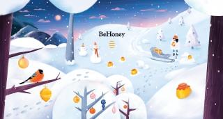 """Illustration for """"BeHoney"""".jpg"""