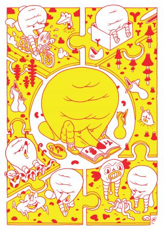 Ciciri Magazine illustration