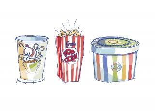 Pop corn_cup