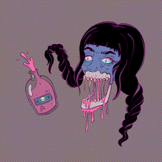 xxzbat_Tipsy Witch_Digital Illustration