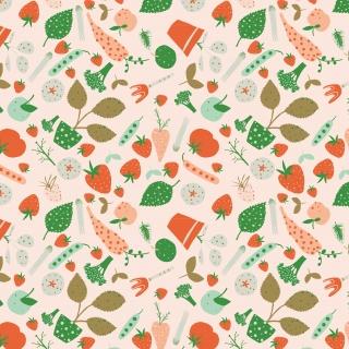 Veggie Garden_Vector_Pattern