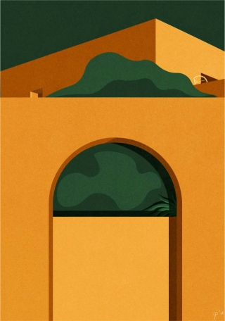 Mediterranean architecture in Pantelleria, Italy, on a summer day..jpg