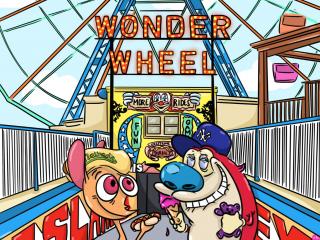 Wonder wheel monsters
