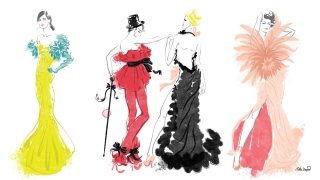 Valentino SS2020 Couture. Group fashion illustration.jpg