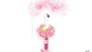 Holy Peony Fragrance by Dior. Beauty Illustration.jpg