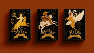 Linh Nguyen - Greek Mytholgoy Book Covers