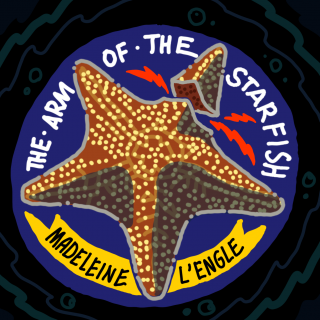 Cover illustration concept for The Arm Of The Starfish by Madeleine L'Engle