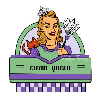 Clean Queen Watermark