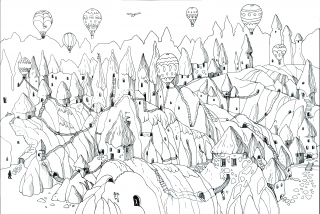 maze cappadocia