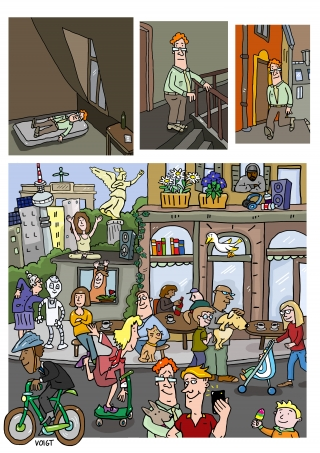 comic street life9