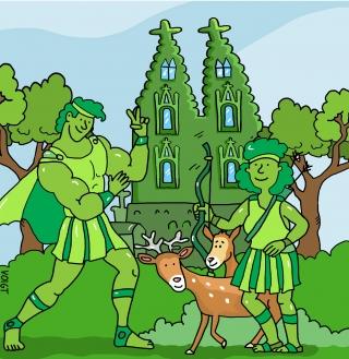 grüne dom45