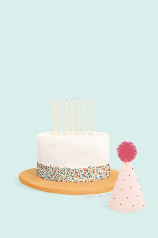 Cake and party hat.jpg