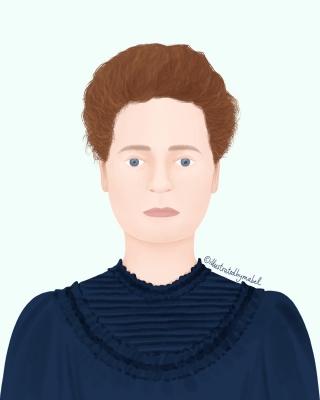 Marie Curie illustration portrait.jpg