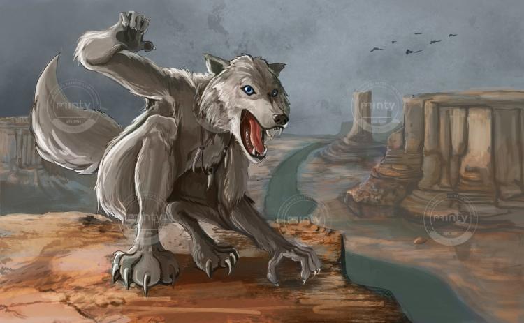 Desert Werewolf