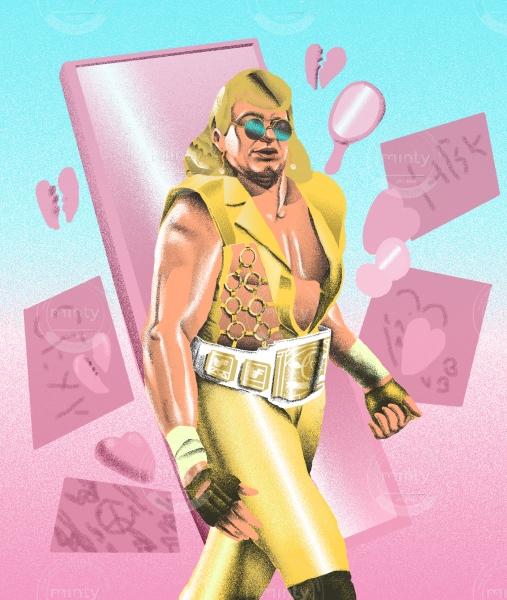 Blond villain