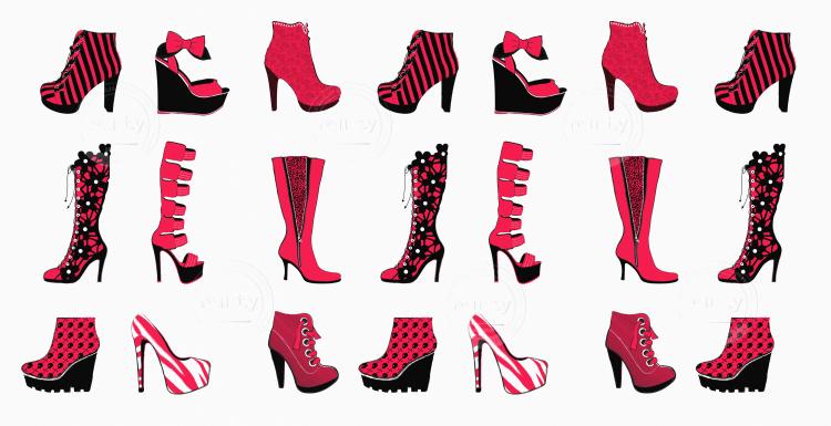 High Heel Pattern