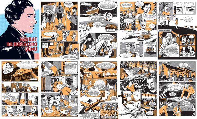 Return to the burning house - comics sample