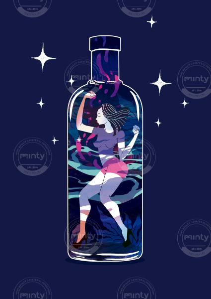Dancing in the bottle
