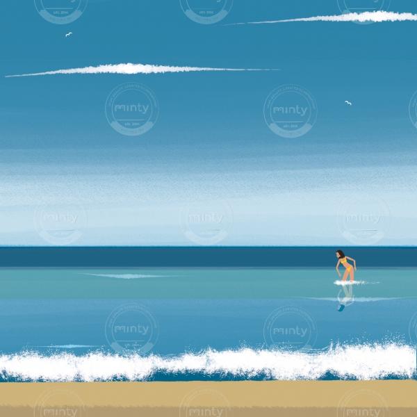 Venus in the sea