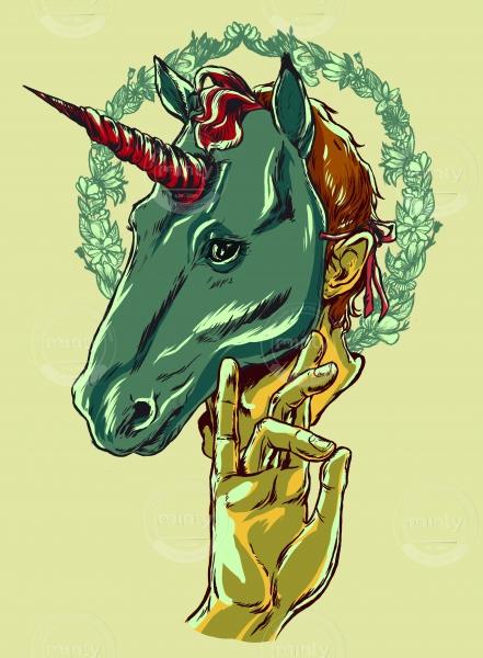 Unicorn man