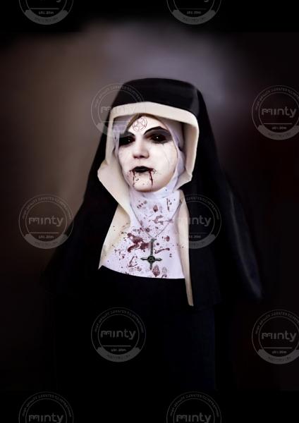 Devilish nun
