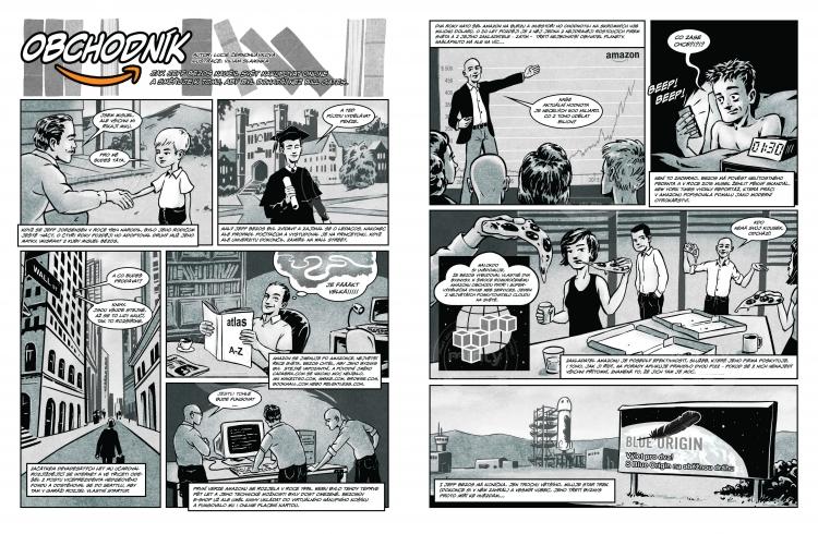 Comics for Amazon