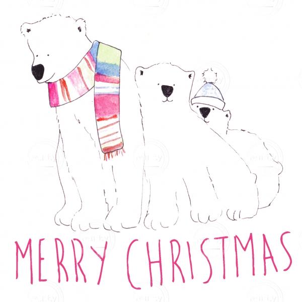 Bear christmas