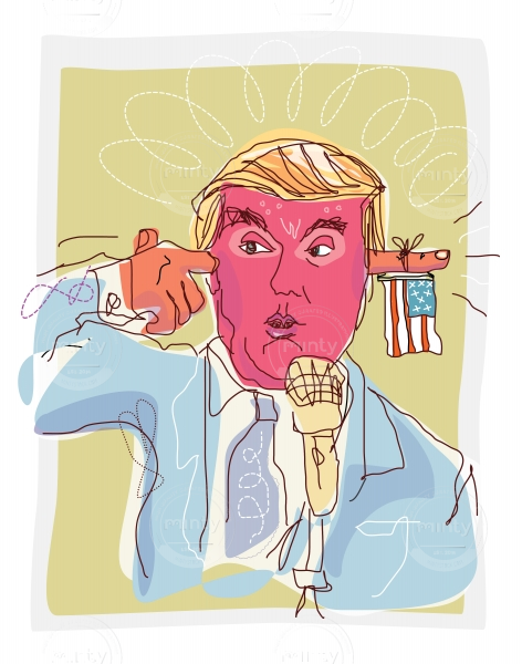 The Donald in Charge