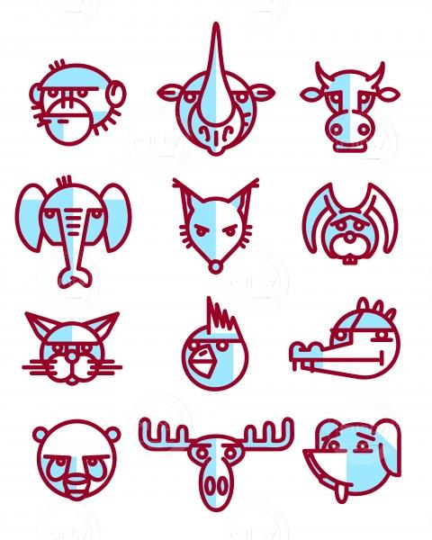 Animal Heads