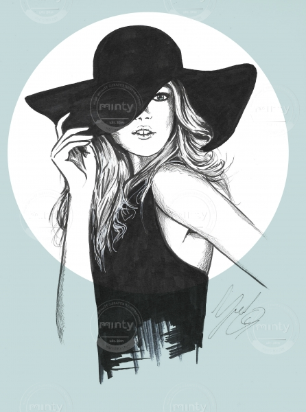 black hat. See more from this artist adeae55aefc
