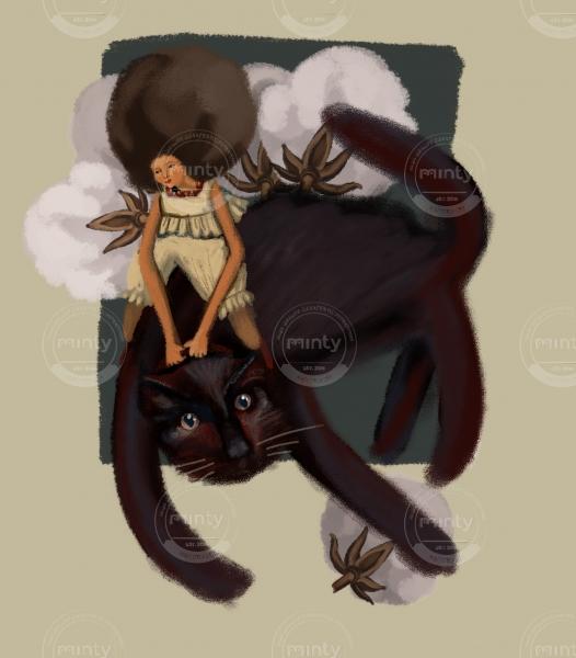 Black cotton cat