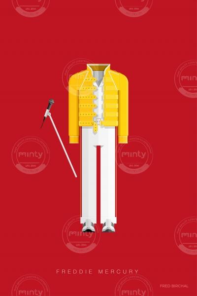 Freddie Mercury - Music Costumes