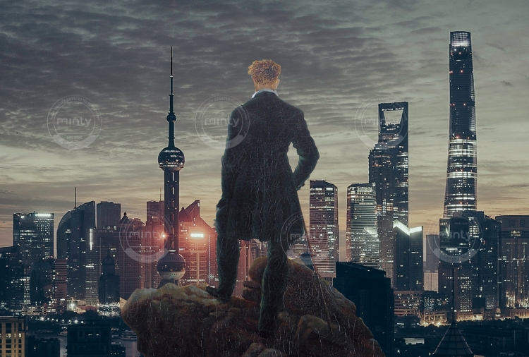 Wanderer above the City