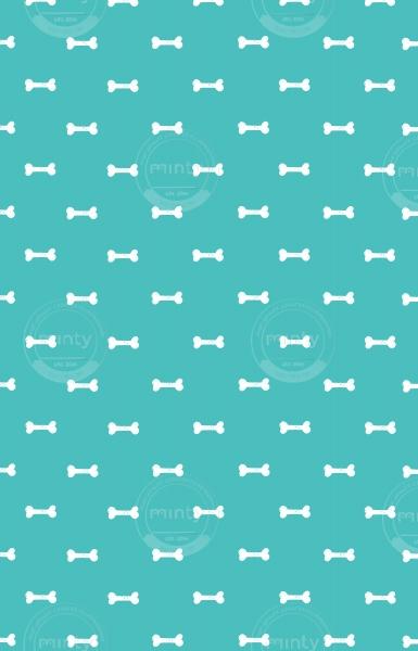 Pattern bone for dogs