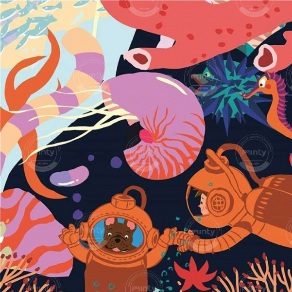 World under the sea