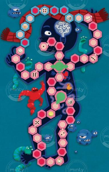 Inside the body - board game