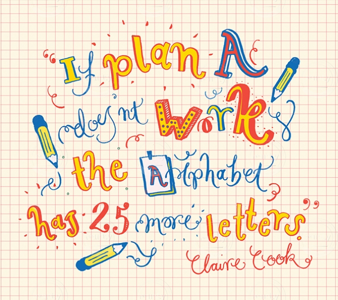 Claire Cook quote