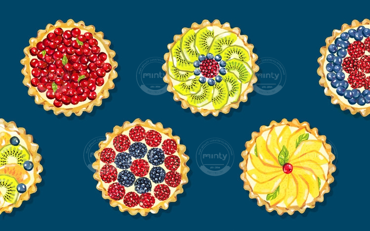 Fruit Tartlets