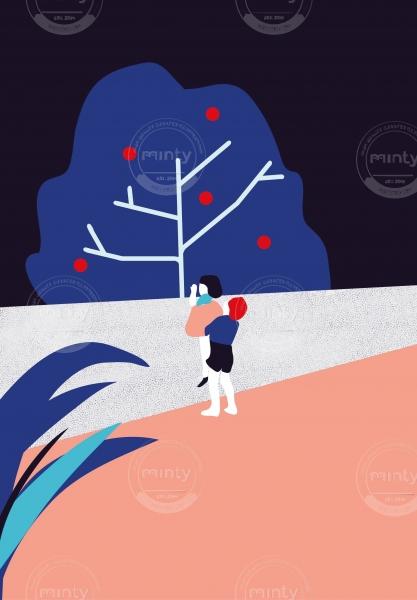 TEAMWORK // Illustration for my BA